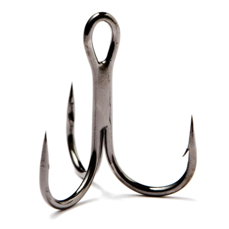 Partridge Pike Lure Replacement Treble Black Nickel