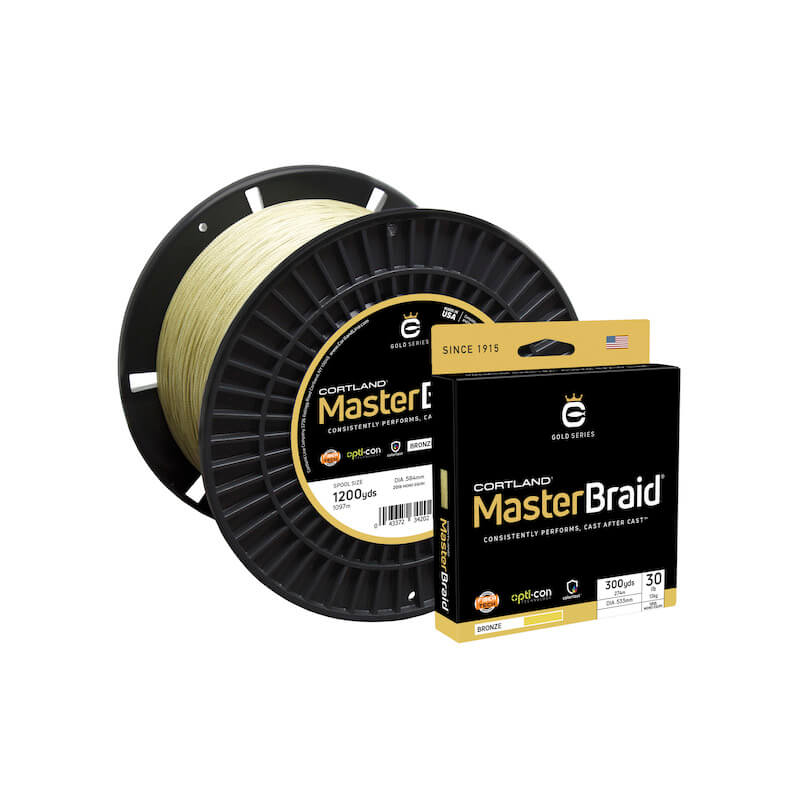 Cortland Master Braid Bronze 600 Yds