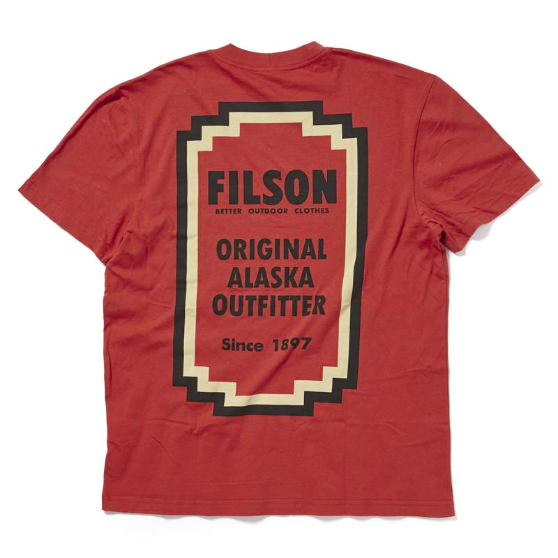 Filson Lightweight Outfitter T-Shirt Red