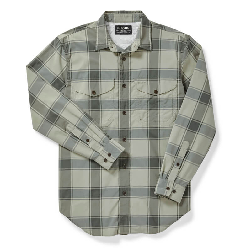 Filson Twin Lakes Shirt Sea Green
