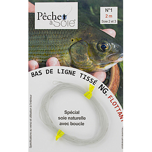 Pêche à Soie Braided Leader with Loop NG 2,0m Line 2/3