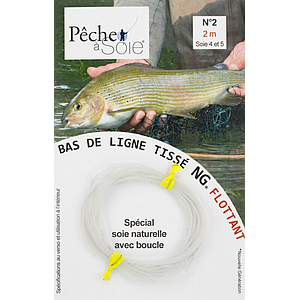 Pêche à Soie Braided Leader with Loop NG 2,0m Line 4/5