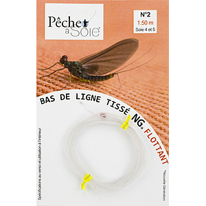 Pêche à Soie Braided Leader without Loop NG 1,5m Line 4/5