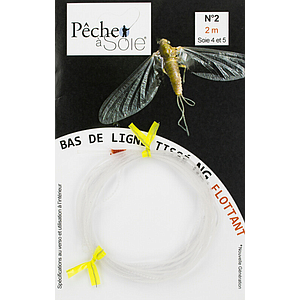 Pêche à Soie Braided Leader without Loop NG 2,0m Line 4/5