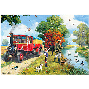 Gibson Puzzle Afternoon Angling