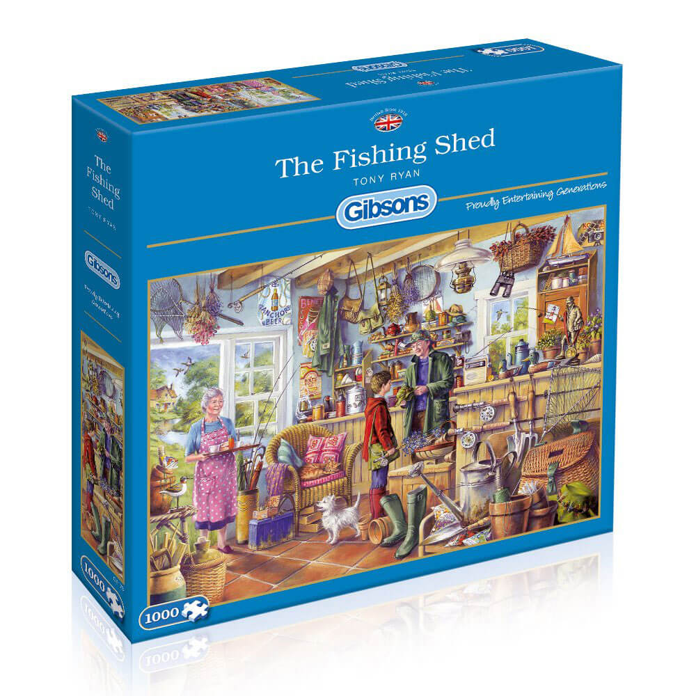 Gibson Puzzle The Fishing Shed