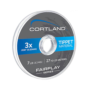 Cortland Fairplay Nylon Tippet Clear 27 Yd