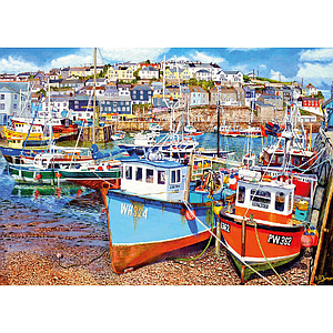 Gibson Puzzle Mevagissey Harbour XL