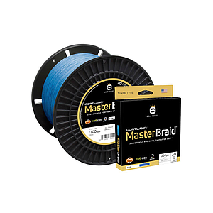 Cortland Master Braid Blue 1200 Yds