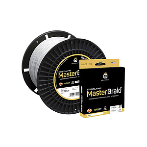 Cortland Master Braid White 1200 Yds