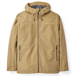 Filson Swiftwater Rain Jacket Dark Tan
