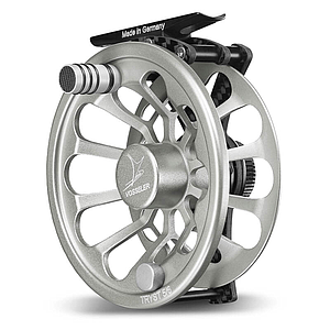 Vosseler Fly Reel Tryst Carbon Silver
