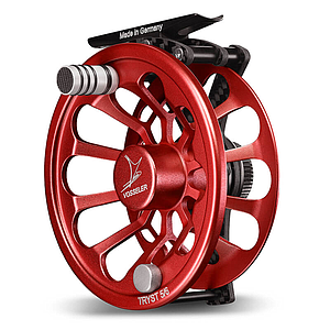 Vosseler Fly Reel Tryst Carbon Red