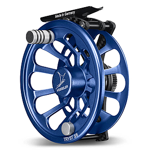 Vosseler Fly Reel Tryst Carbon Blue