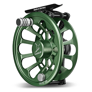 Vosseler Fly Reel Tryst Carbon Green