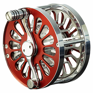 Vosseler Fly Reel Passion Red