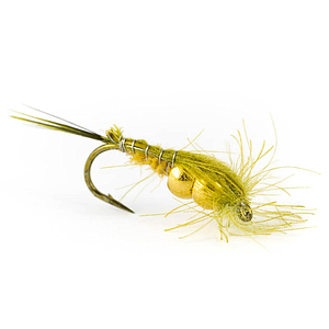 Petitjean May Fly CDC Nymph 2 Beads