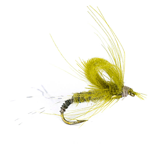 Petitjean May Fly CDC Emerger Olive