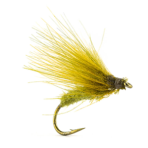 Petitjean Caddis Fly CDC Olive/Yellow