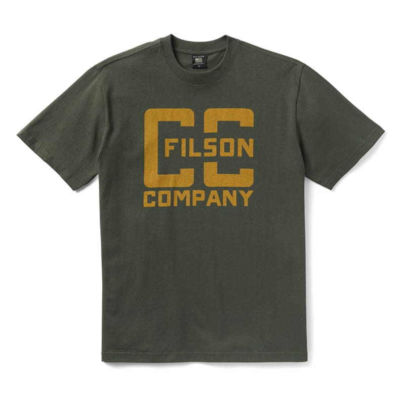 Filson Pioneer Graphic T-Shirt Dark Forrest