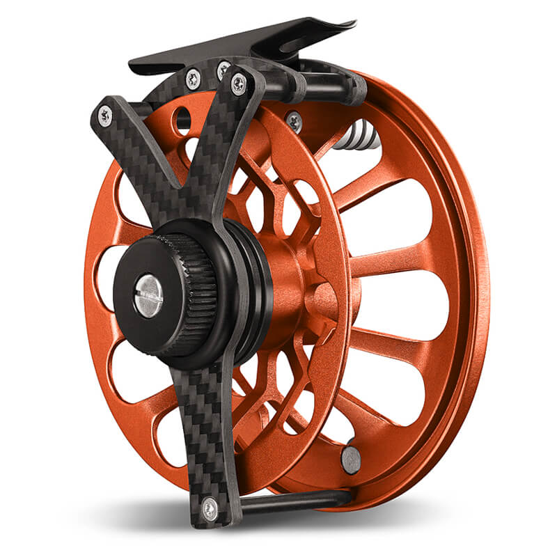 Vosseler Fly Reel Tryst Carbon Orange