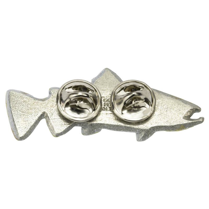 Brown Trout Pewter Pins
